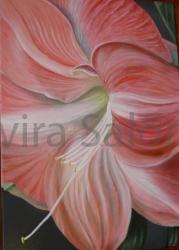 """""""Amarillide"""" - acrilico – cm 50 x70 - Elvira Salonia"""