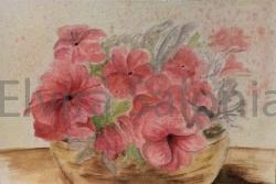 Cesta di fiori cm19x28