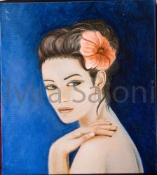 Settembre 2006 – olio – cm 36x40x3 (collezione privata) - Elvira Salonia